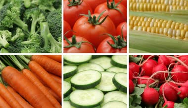 Fresh raw vegetables — Stock Video