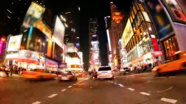 Times Square traffic — Stock Video