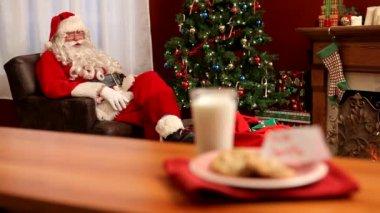 Christmas Cookies for Santa — Stock Video