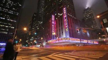 Radio City Music Hall — Stock Video