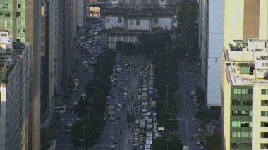 Street in Rio de Janeiro — Stock Video