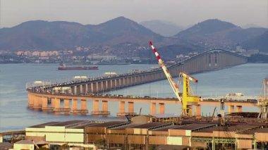 Rio - Niteroi Bridge — Stock Video