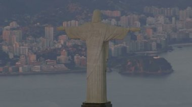 Christ the Redeemer statue — Stock Video