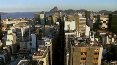Flying over Rio de Janeiro — Stock Video