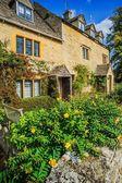 田舎の伝統的な英語の家 — ストック写真