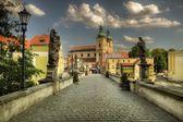 St. John Bridge in Klodzko, Poland — Stock Photo