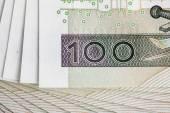 100 PLN note — Stock Photo