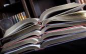 Vecchi libri — Foto Stock