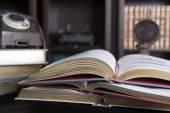 старинные книги — Стоковое фото