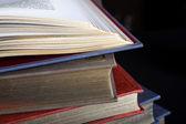 Vintega and old books — Foto Stock