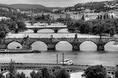 Summer panorama of Prague, Czech Republic — Stock Photo