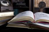 Old and vintage books — Stockfoto