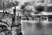 Zabytkowy Most Karola w Pradze, Republika Czeska — Zdjęcie stockowe