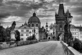 Historic Charles Bridge in Prague, Czech Republic — Stock Photo