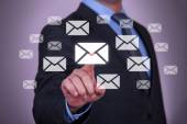 Touch Email — Stock Photo