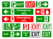 Exit — Vector de stock