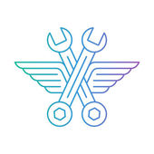 Fast car service. — Stock Vector
