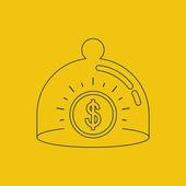 Финансы страхование концепция — Cтоковый вектор