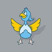 Bird Vector illustration — Stock Vector