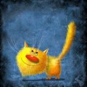 Yellow cat — Stock Photo