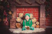 Baby elf — Stock Photo