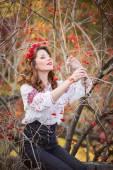 Ukraynalı kadın — Stok fotoğraf