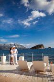 Honeymoon couple — Stock Photo