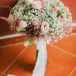 Wedding bouquet in creamy fine art style — Stock Photo #64878673