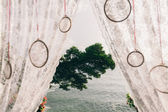 Wedding arch close up — Stock Photo