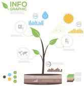 Infografics — Stock Vector