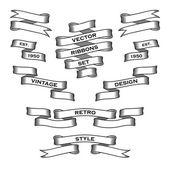 Ribbon3 — Stockvektor