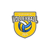 VolleyballY — Stock Vector