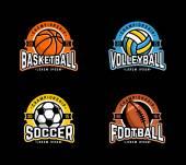SportBadge — Stock Vector