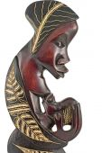 African statuettes — Stock Photo
