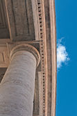 Colonnade of San Pietro in Rome — Stockfoto