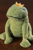 Frog king toy — Stock Photo