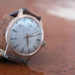 Old wrist watch — Stock Photo #70682853