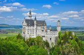 Neuschwanstein Castle in Summer — Stock Photo