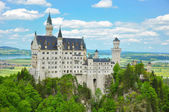 Neuschwanstein Castle in Summer — Foto Stock