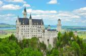 Neuschwanstein Castle in Summer — Fotografia Stock