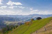 Bahar çayır dağları — Stok fotoğraf