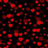 Valentinky den srdce pattern. — Stock vektor