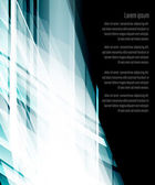 Futuristic ice background — Stock Vector