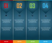 Elements for infographic design — Vector de stock
