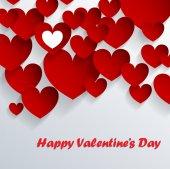 Abstarct valentine background — Vetor de Stock