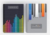 Modern abstract brochure — Wektor stockowy