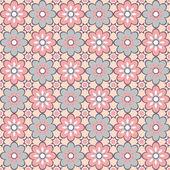 Geometrik seamless modeli. — Stok Vektör