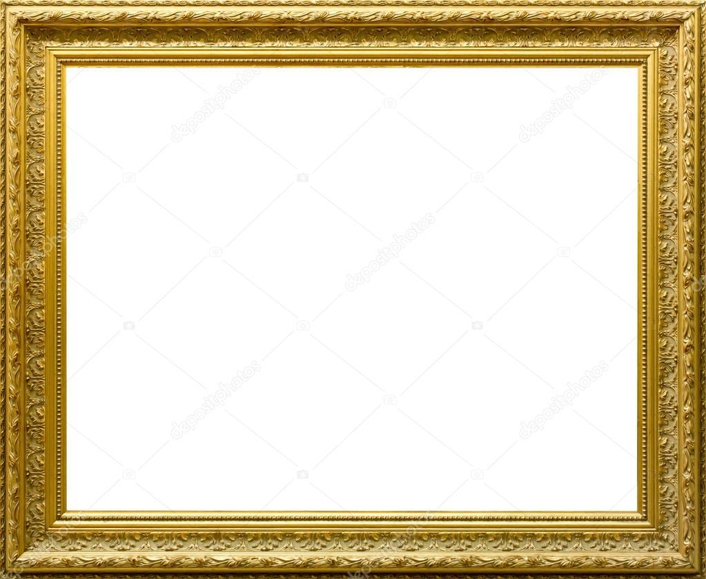 Hermoso marco dorado para cuadros y fotos fotos de stock - Marcos de fotos dorados ...