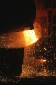 Metallurgical factory — Stock Photo