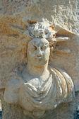 Rock cut tombs in Myra, Demre, Turkey, Scene — Stock Photo